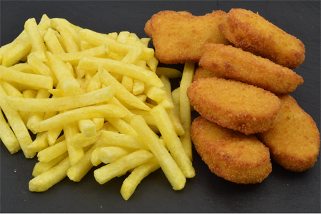 Chicken_Nuggets_Pommes